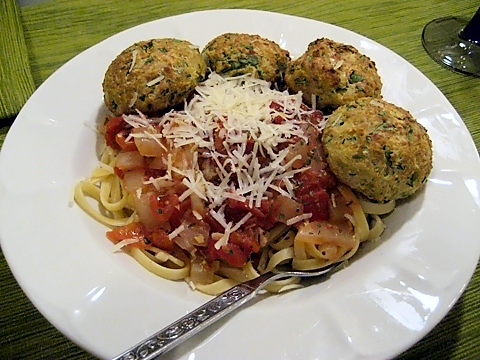meatballs without meat: think of the possibilities!
