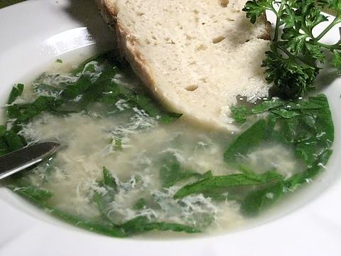 stracciatella soup