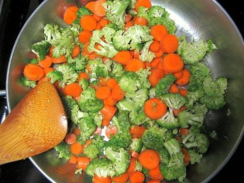 carrots and broccoli!