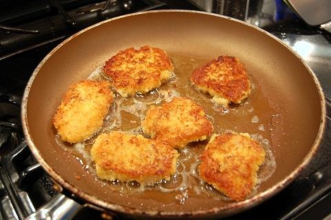 fry them until golden brown on both sides