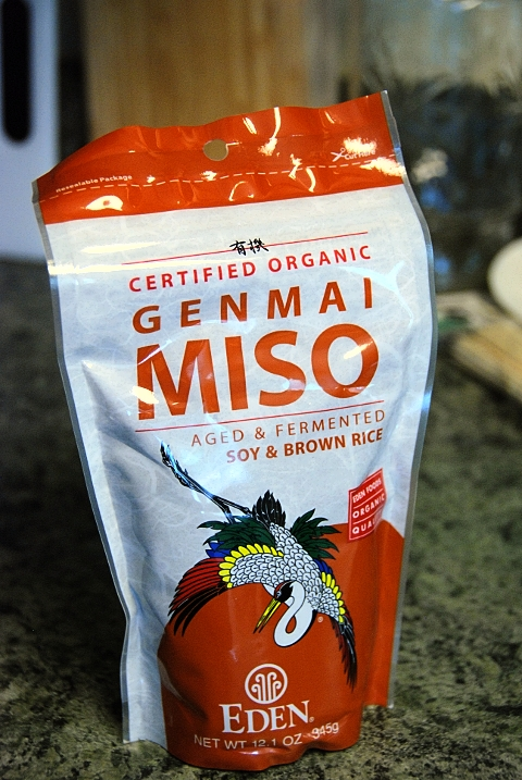 pick your favorite type of miso paste, we used this