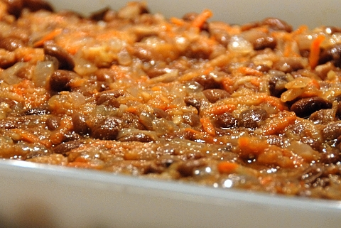 really good vegetarian baked beans