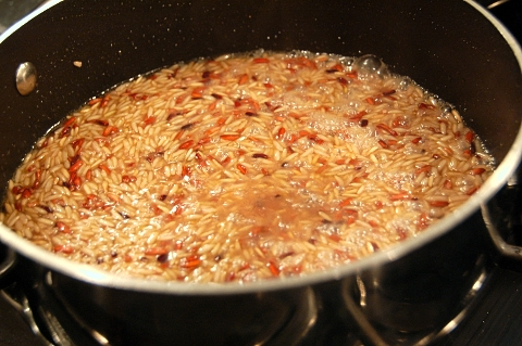 risotto style wild rice