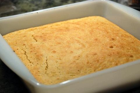 finished cornbread!
